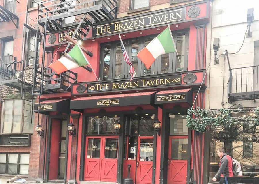 Irlandzki bar w Nowym Yorku