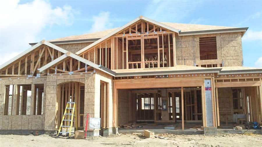 budowa domu w USA