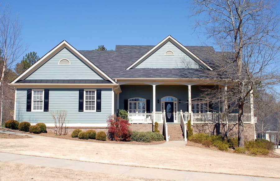 typowy dom w USA