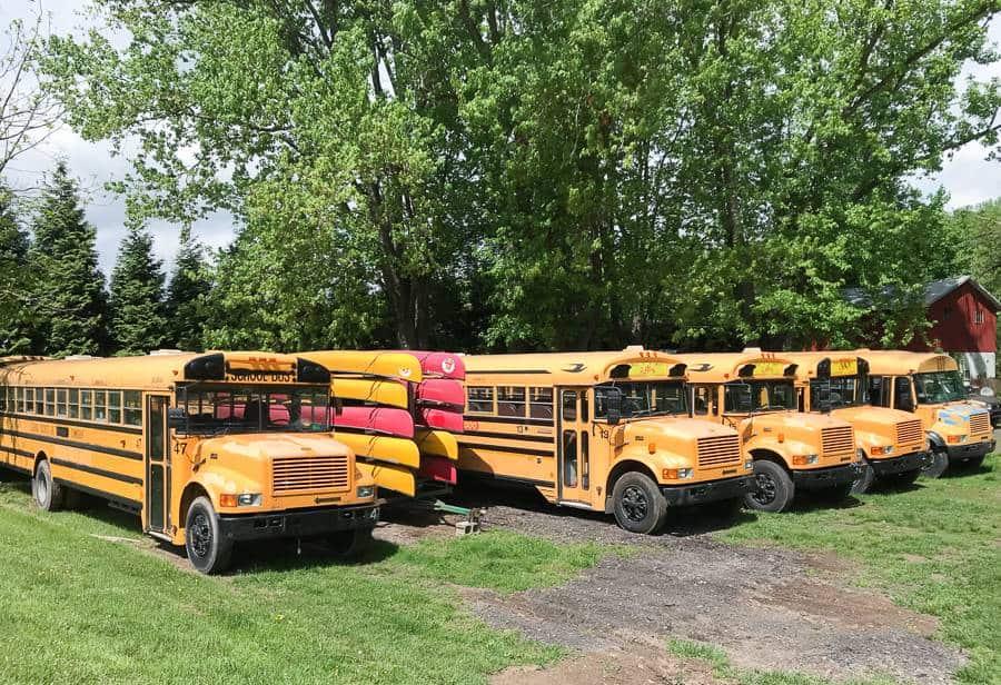 usa szkolne autobusy