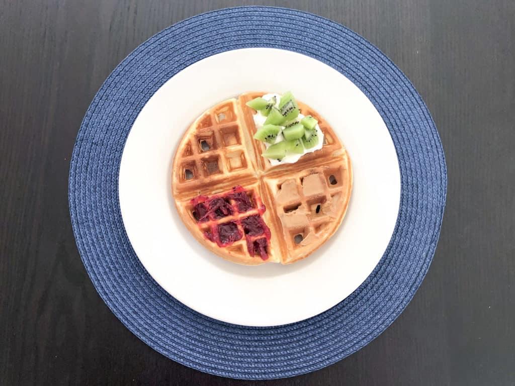 waffles czyli amerykańskie gofry