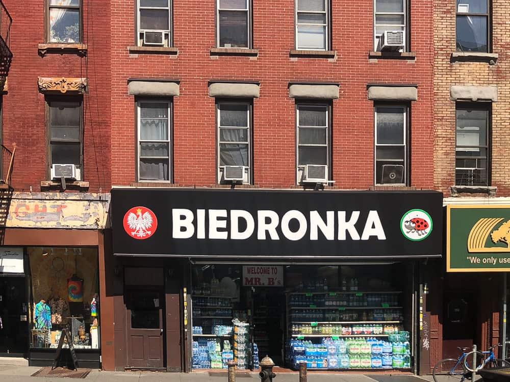 Greenpoint NY polski sklep